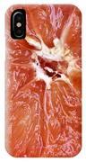 Grapefruit Half IPhone Case