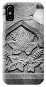 Grapevine Carving IPhone Case