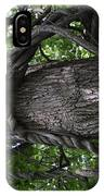 Grapevine Covered Tree IPhone Case