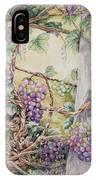 Grapevine Laurel Lakevineyard IPhone Case