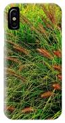 Grasses In The Verticle IPhone Case