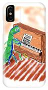 Grasshoppers Don't Play Piano IPhone Case