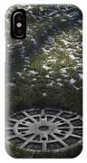 Grassy Manhole IPhone Case