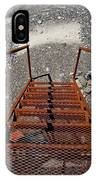 Gravel Pit Grinder Rusty Staircase IPhone Case