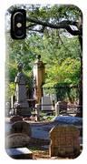 Graveyard In Charleston IPhone Case