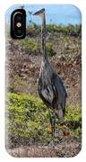 Great Blue Heron - 7 IPhone Case