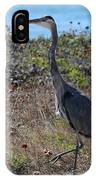 Great Blue Heron - 8 IPhone Case