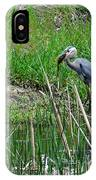 Great Blue Heron Series 5 Of 10 IPhone Case