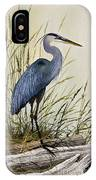 Great Blue Heron Splendor IPhone Case