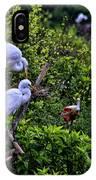 Great Egret Pair IPhone Case