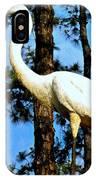 Great Heron Art IPhone Case