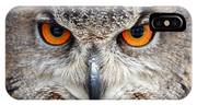 Great Horned Owl IPhone X Case