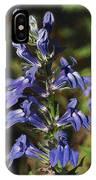 Great Lobelia Blues IPhone Case