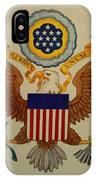 Great Seal Of The United States Of America IPhone Case