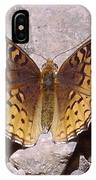 Great Spangled Fritillary IPhone Case