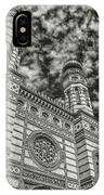 Great Synagogue IPhone Case by Michael Kirk