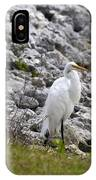 Great White Heron Race IPhone Case