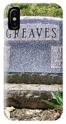 Greaves IPhone Case