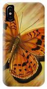 Greek Butterfly IPhone Case