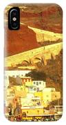 Greek Fishing Town IPhone Case