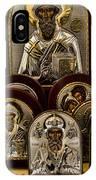 Greek Orthodox Church Icons IPhone Case
