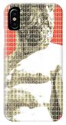 Greek Statue #2 - Orange IPhone Case
