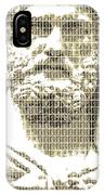 Greek Statue #3 - Blue IPhone Case