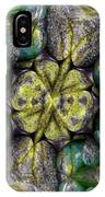 Green And Blue Stones 2 IPhone Case