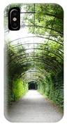 Green Arbor Of Mirabell Garden IPhone Case