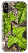 Green Arrowheads IPhone Case