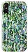 Green Bamboo Tree In A Garden IPhone Case