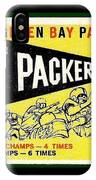 Green Bay Packers 1959 Pennant IPhone Case