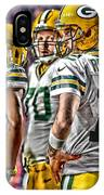 Green Bay Packers Team Art 2 IPhone Case