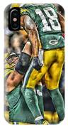 Green Bay Packers Team Art IPhone Case