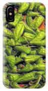 Green Bean Tips IPhone Case