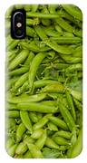 Green Beans IPhone Case