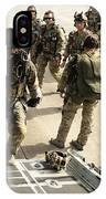 Green Berets Board A C-130h3 Hercules IPhone Case