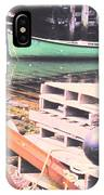 Green Boat IPhone Case