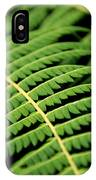 Green Bracken IPhone Case