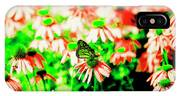 Green Butterfly IPhone Case