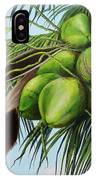 Green Coconuts- 01 IPhone Case