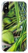 Green Coconuts- 03 IPhone Case