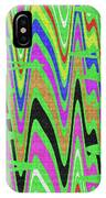 Green Color Abstract #140 IPhone Case