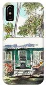 Green Cottage IPhone Case