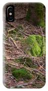 Green Covered Rock IPhone X Case