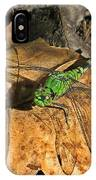 Green Dragon IPhone Case