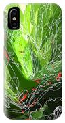 Green Explosion IPhone Case