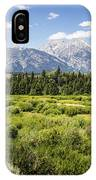Green Field IPhone Case