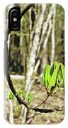Green Foliage Forest IPhone Case