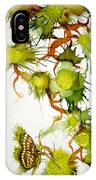 Green Fruit And Butterfly IPhone Case